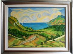 BOUTSELAKOS 66X86 OILPAINT.- FROM 460.00 SPECIAL OFFER 340.00